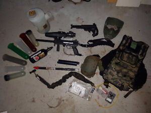 Tippmann A5 Full Loadout- Steal of a Deal, NEED GONE.
