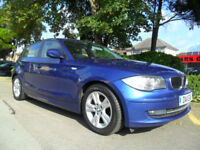 BMW 118 2.0TD 2011 MY SE COMPLETE WITH M.O.T HPI CLEAR INC WARRANTY