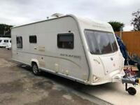 2009 Bailey Senator Virginia 4 Berth caravan FIXED ISLAND BED, MOTOR MOVER !