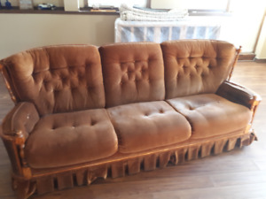 Nadeau Chesterfield and Nadeau Swivel rocker for sale