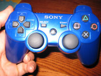 PS3 Blue DualShock 3 Controller for PlayStation 3