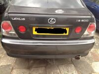 Lexus is200 grey 1c6 boot boolid tailgate 98-05 breaking spares is 200 is300