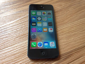Great Condition Apple iPhone 5 Black 16GB (Bell & Virgin)