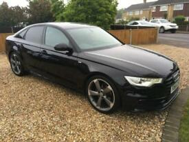 Audi A6 Saloon 2.0TDI Ultra Black Edition S Tronic Auto Automatic