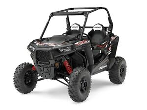 2017 Polaris RZR S 900 EPS Black Pearl or Titanium Metallic