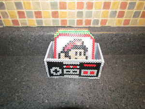 Handmade Nintendo Character Coasters with NES Controller Holder Cambridge Kitchener Area image 2