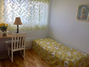 *VERY NICE Furnished room for rent in NDG. /**