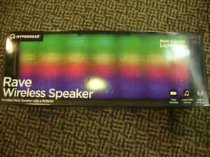 HYPERGEAR RAVE WIRELESS SPEAKER