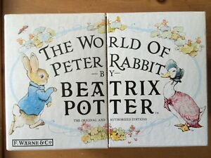 THE WORLD OF PETER RABBIT by BEATRIX POTTER Vols.1-23