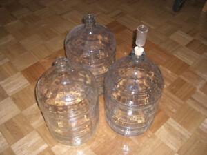 5 Gallon Glass Demijohn/Carboy