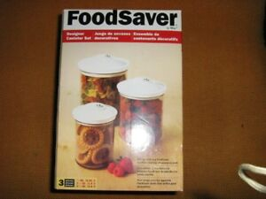 FoodSaver canister set