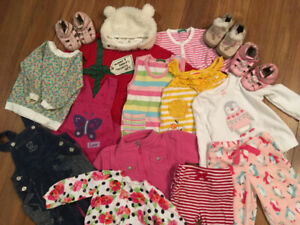 Girls' clothes 6m-3y.o.-$25-over 60 items
