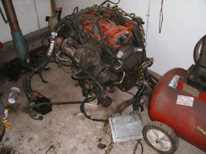 LT1 Chev Engine Complete with wiring and computer