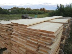"rough green 1"" white pine"
