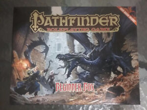Pathfinder role playing board game Beginner box