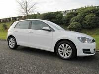 2014 MODEL VOLKSWAGEN GOLF 1.6TDI SE*105 BHP*ADAPTIVE CRUISE CONTROL *ZERO TAX*