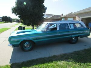 1966 Plymouth Belvedere ll Station Wagon