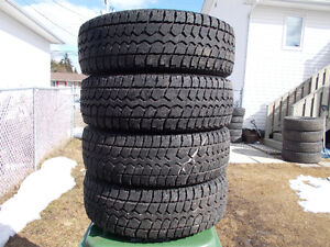 p215/70/16 inch winter tires / LOTS OF TREAD / GOOD DEAL