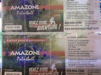 Paintball St-Cuthbert pour 8 personnes valeur de plus de 300$