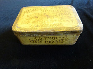Tobacciana - Antique Hamilton Tobacco Tin