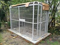 "Beautiful Walk In Parrot Cage Aviary 110""Lx62""Wx79""H"