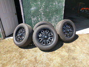 Selling summer tires on rims size 275/55r20 Kingston Kingston Area image 1