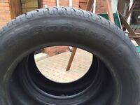 2 X Part worn tyres