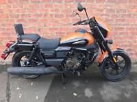NEW UM Motorcycles Renegade Sport S 125 own this bike for only £14.34 a week