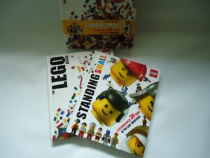 Lego book box set of 2 books.