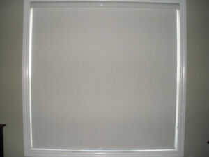 ALTEX BLIND in OPAQUE MORNING MIST FABRIC