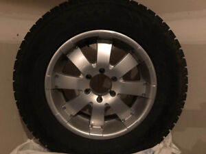 Winter Tires and Rims GREAT SHAPE! Toyota 4 Runner