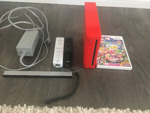 Nintendo wii, with controllers