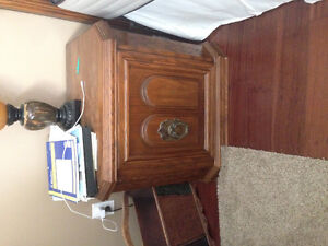 Bed frame, night tables and 2 dressers Stratford Kitchener Area image 2