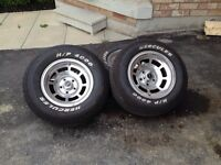 1981 rims but new tires