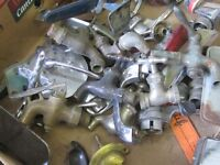 BUNCH OF OLD WATER TAP FAUCETS $2 EACH ARTS & CRAFTS STEAMPUNK