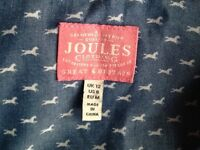 Joules size 12 ladies loose fit cotton shirt pristine