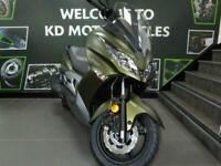 KAWASAKI J300 AUTOMATIC SCOOTER FOR SALE NEW A2 LICENCE EX DEMO