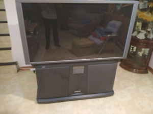 Hitachi 53 inch TV set  for free  with HDMI port
