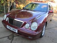 Mercedes-Benz E200 Kompressor 2.0 auto Avantgarde 1 Prev Owner Low Miles FSH