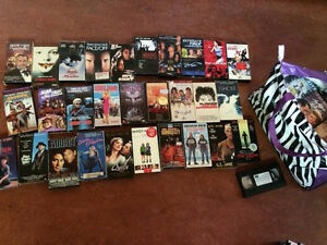 60 VHS Tapes! Great Titles!