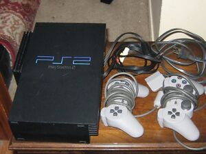 PLAYSTATION PS2 SYSTEM & 4 GAMES