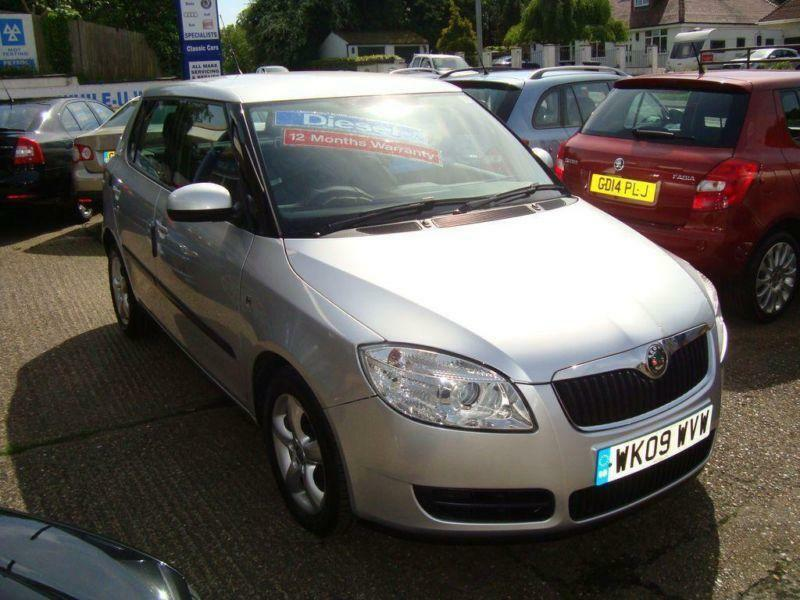2009 skoda fabia 1 4 tdi pd 80 2 in meopham kent gumtree. Black Bedroom Furniture Sets. Home Design Ideas