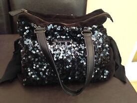 Genuine Juicy Couture sequin sparkly bag