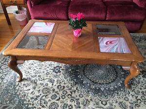 Solid wood coffee table London Ontario image 1