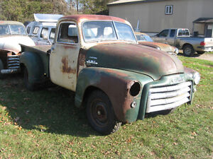 Western 1949 GMC 5 window project truck, sell trade London Ontario image 3