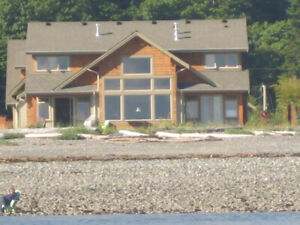 WATERFRONT Home for Rent in Qualicum Beach, B.C.!