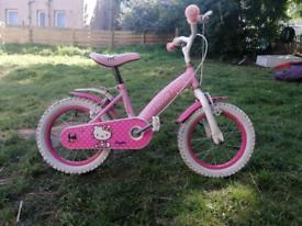Girls Lilly kitty bike