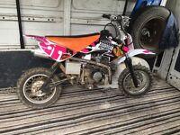 Small wheel 110cc xsport pit bike perfect condition