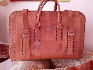 Leather bag / luggage