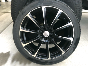 Universal Rims with Tires 225/45/18